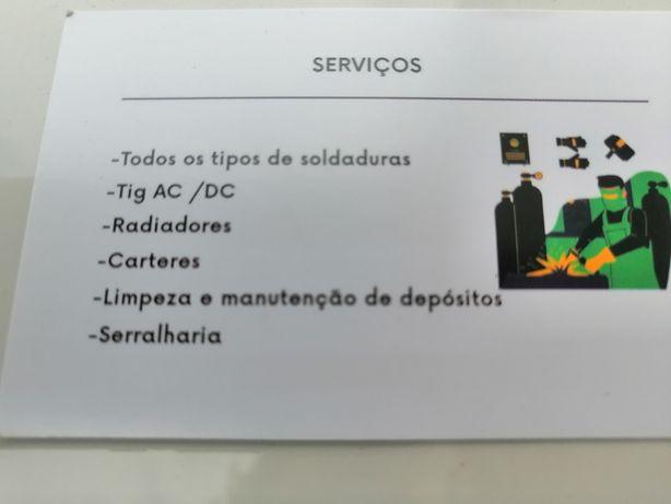 SOS  Serviços de SOLDADOR
