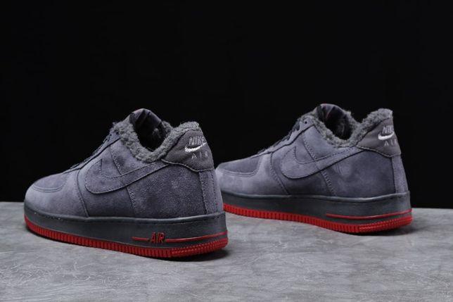 Найк. Кроссовки, зима. Женские Nike 31731, кросовки, мех. Замша