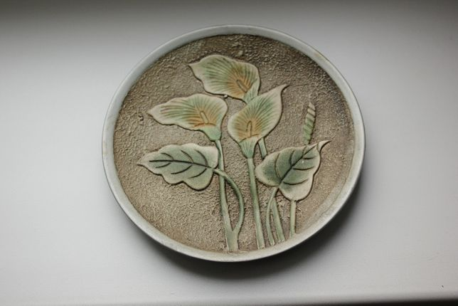 Подарочная тарелка с подставкой