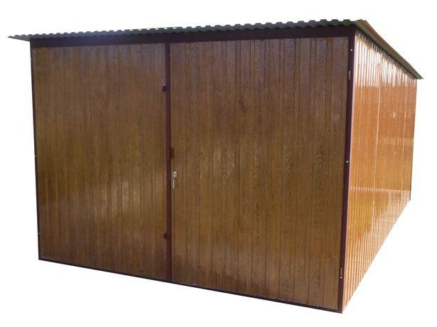 Garaż blaszany na budowę PRODUCENT Blaszak WZMOCNIONY Garaże blaszane