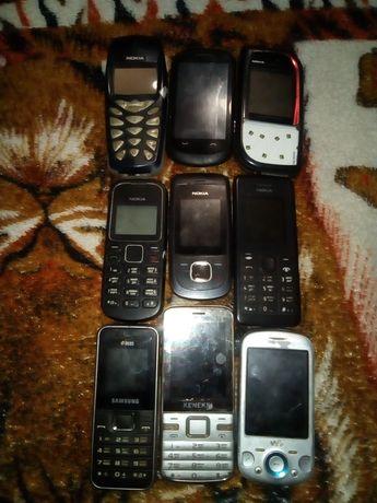 Мобільні телефони на запчастини