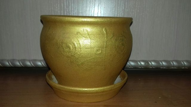 Горшок / вазон / горщик для комнатных цветов / кімнатних рослин