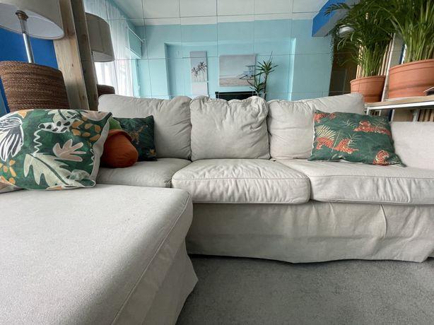Sofa ikea ektorp 03 lugares com chest long removivel