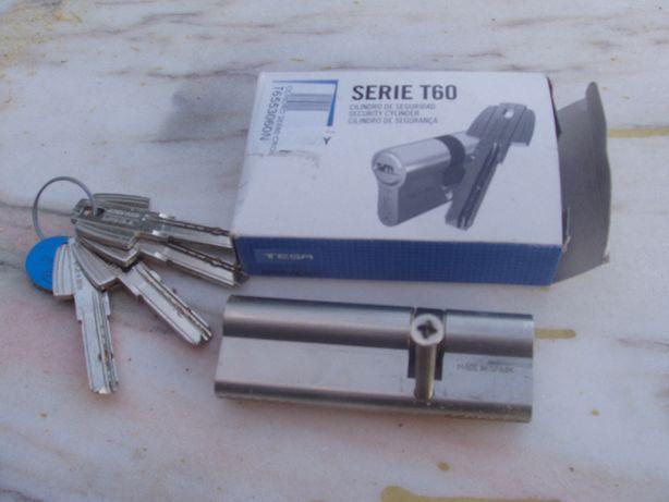 Cilindro - chave de segurança TESA - Serie T60
