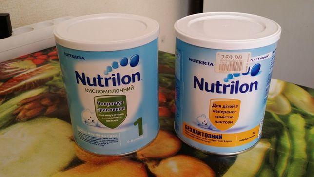 Детское питание Nutrilon - Нутрилон кисломолочный