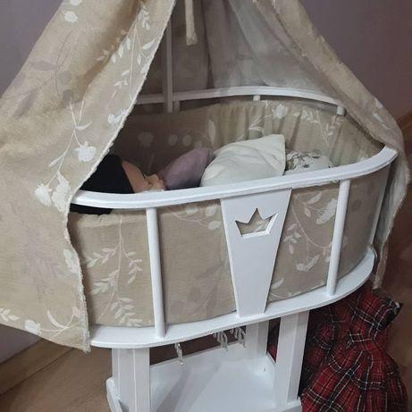 Ліжечко-шафа для ляльки  бебіборн (бебі борн)  або бебі аннабель