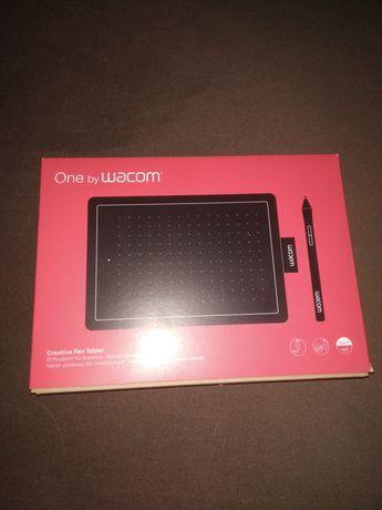 Tablet graficzny One by wacom Model: CTL-472 czerwony