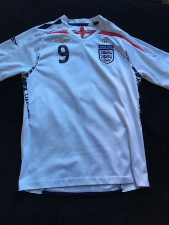 tshirt oficial seleção inglesa - Rooney