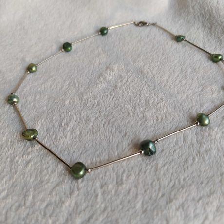 Nowy naszyjnik z perłami prezent Dzień Kobiet vintage