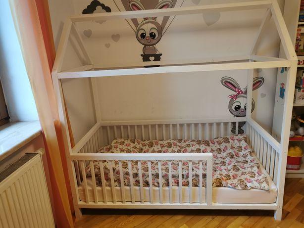 Łóżeczko/łóżko  dziecięce domek