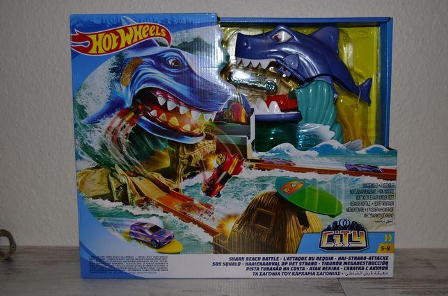 Хот вилс Большой набор Побег от акулы Hot Wheels