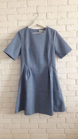 Sukienka w kratķę Reserved