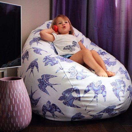 Пуфики для детей, мягкая мель, кресло мешок, пуф, мяч, диван, груша