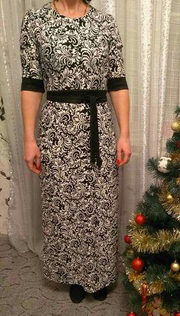 Платье в пол сукня довга стан нової