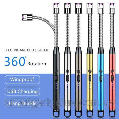 Универсальная гибкая кухонная импульсная USB зажигалка XH-792B