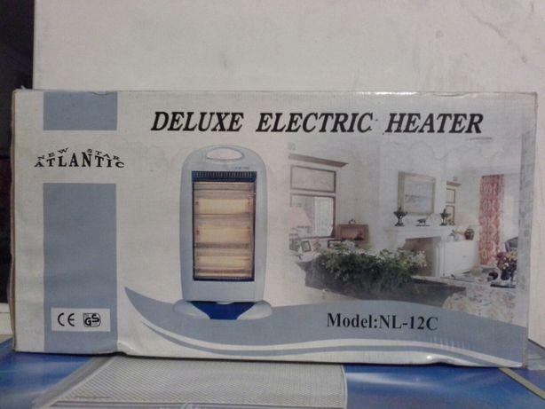 Обогреватель галогенный инфракрасный DELUXE Electric Heater Atlantic