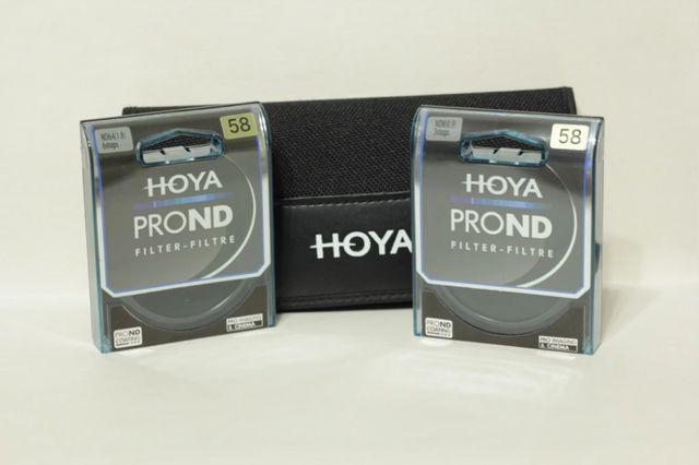 Zestaw filtrów Hoya ProND8/64 + CIR-PL UV 58mm