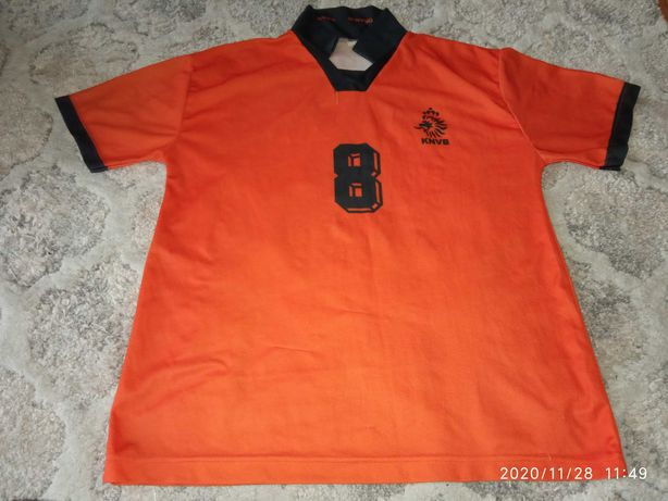 Koszulka Edgar Davids Holandia kolekcjonerska