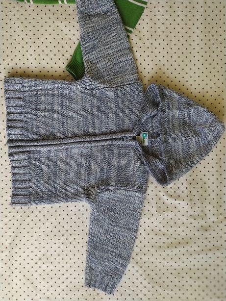 Sweterek na chłopca roz 86