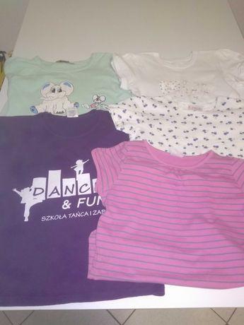 Koszulki dziewczynka 128
