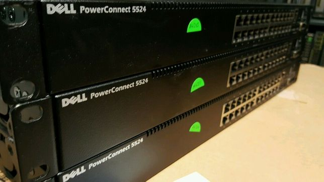 Гігабітовий комутатор / свитч з 10Gbe Dell PowerConnect 5524 SFP+