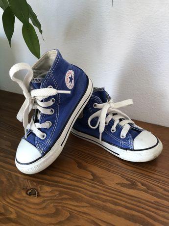Niebieskie trampki Converse 23