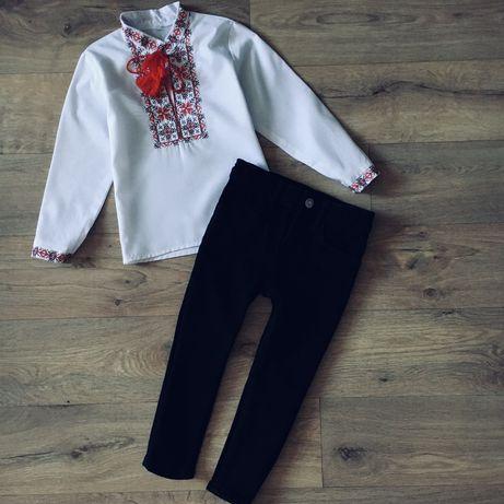 Вышиванка для мальчика, брюки, штаны H&M