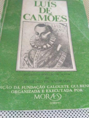 Livro Versos e alguma Prosas de Luís de Camões
