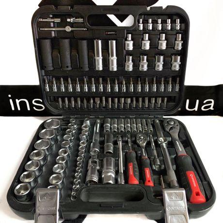 Набор инструментов 111ед. Intertool Storm + Ударные головки