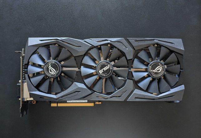 Asus ROG Strix GeForce GTX 1070 OC edition 8GB GDDR5 Aura Sync RGB VR