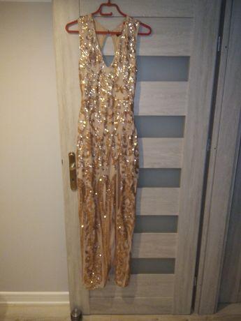 Długa sukienka ASOS r M 38