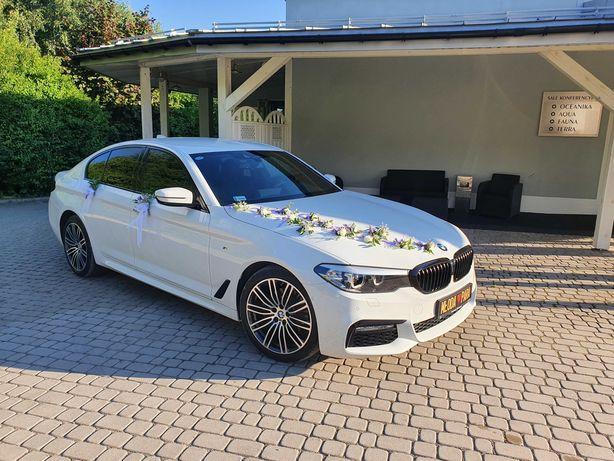 Auto do ślubu BMW 5 G30 !!! Samochód na wesele, wynajem !!! OKAZJA !!!