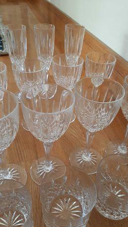 Conjunto de 16 copos de cristal D'Arques, novo