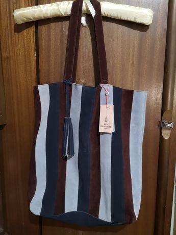 Стильная замшевая сумка, BeckSöndergaard