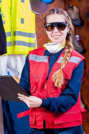 BHP szkolenia, doradztwo, ocena ryzyka, wypadki przy pracy, instrukcje