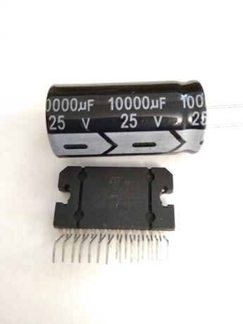 ТDА 7850  усилитель + 10000mFx25V конденсатор.