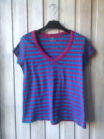 T-shirt bluzka w paski Atmosohere M