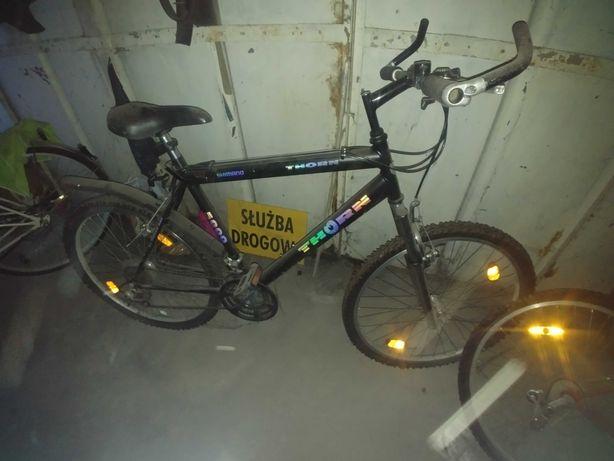 3 rowery używane Thorn - shimano