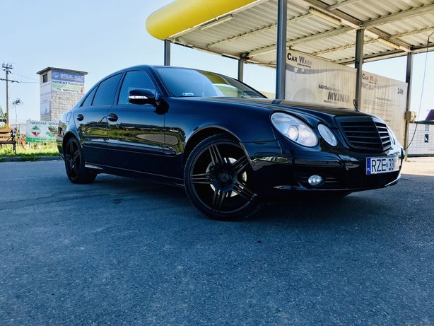 Mercedes E320cdi *2007r*Lift*4x4* Zamiana bus lub osobowy *