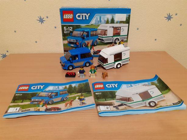 LEGO City 60117 Great Vehicles (Фургон и дом на колёсах) оригинал