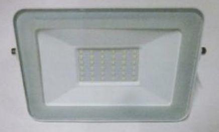 Projetor LED 30W, 4000K, IP65, em alumínio