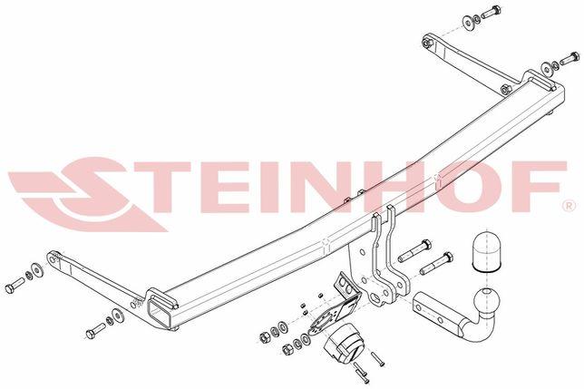Hak holowniczy z modułem Audi Q2 od 2016 -