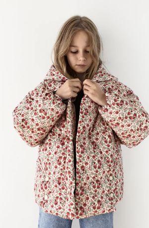 Новая курточка Zara,размер 8-9 лет(рост 130 см),цена 1200 грн
