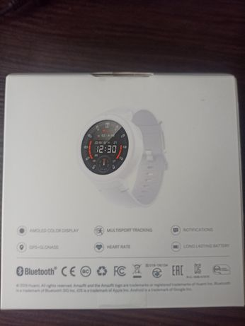 Смарт часы Amazfit Verge Lite White