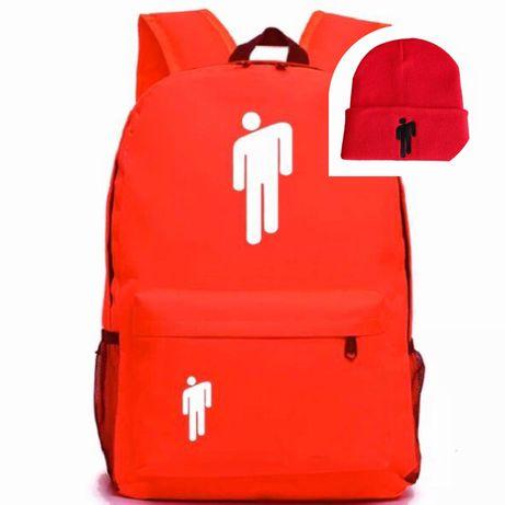 Модный яркий рюкзак БИЛЛИ АЙЛИШ и шапка BILLIE. Новые, из США