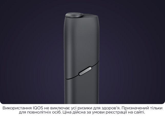 Купуй офіційно з гарантією IQOS 3 Multi, (айкос 3 малті, Графітовий)