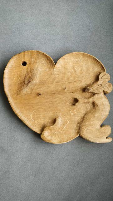 Drewniana deska handmade