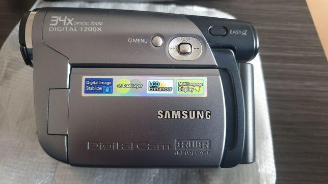 Samsung DVD camera recorder VP-DC171 oferta de discos