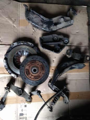 кронштейны подушек сцепление корзина шкив ланос авео ваз2110 2111 2112
