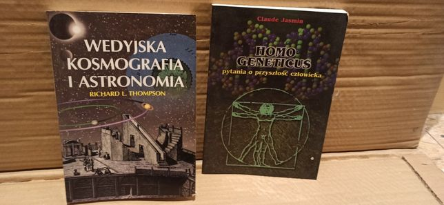 Wedyjska Kosmografia i Astronomia Richard L. Thompson plus druga grati